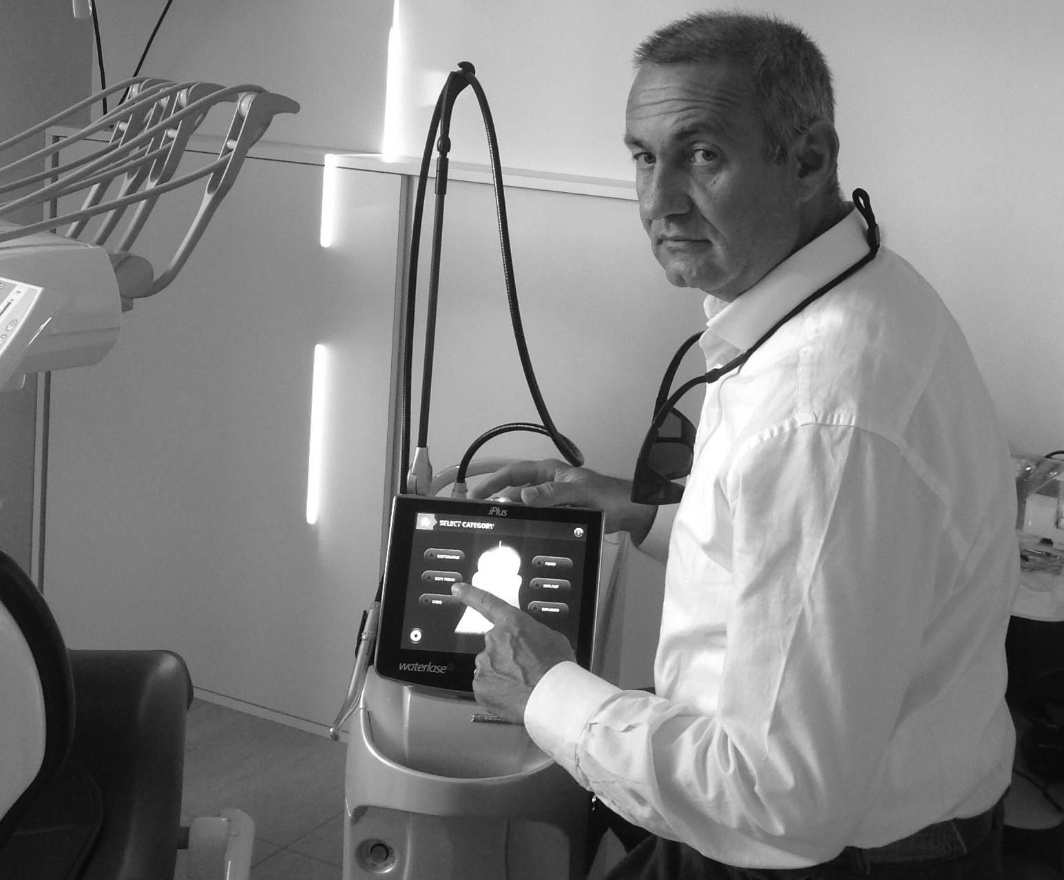 Il laser. L'avanguardia della medicina.
