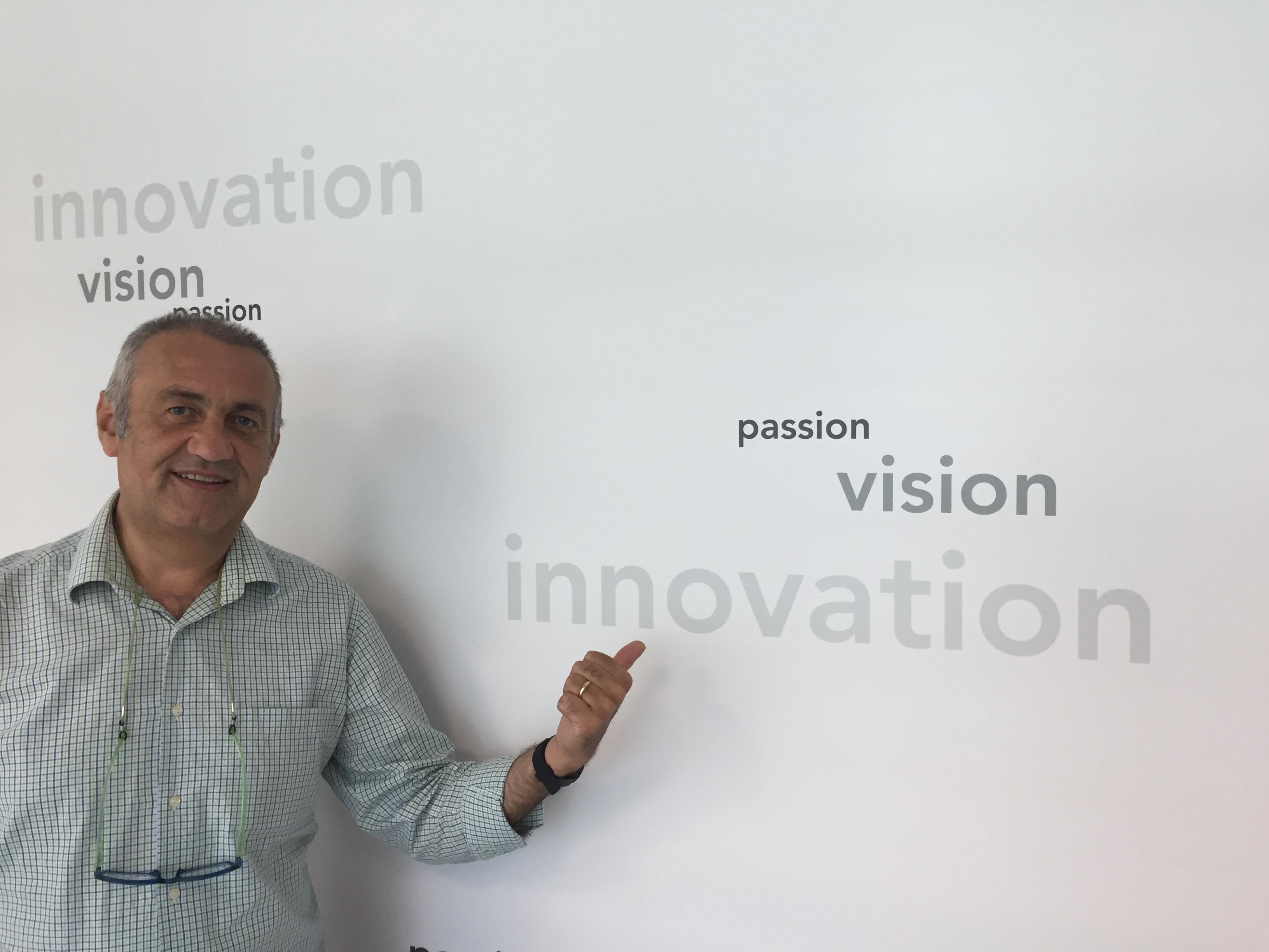 Passione, visione, innovazione